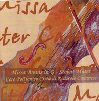 CD Missa Brevis in G - Stabat Mater